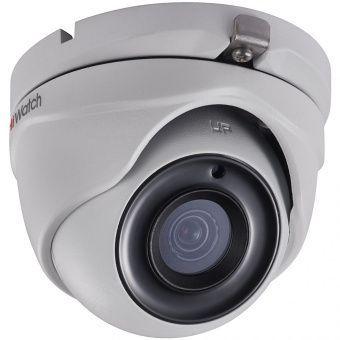 HD-TVI камера-сфера 5Мп HiWatch DS-T503 с ИК-подсветкой EXIR для улицы