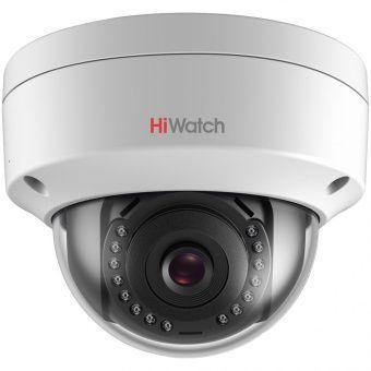 Уличная вандалозащищенная IP-камера HiWatch DS-I102 с ИК-подсветкой