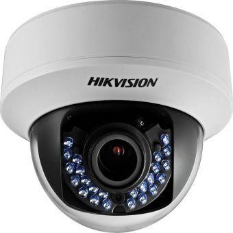 Уличная вандалостойкая HD-TVI камера Hikvision DS-2CE56D1T-VPIR3 с вариообъективом и ИК-подсветкой