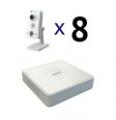 Комплекты IP (8 камер)