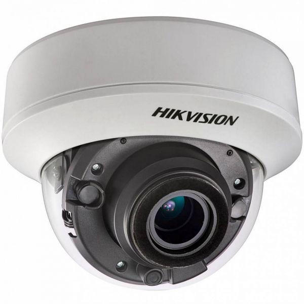 HD-TVI камера 3Мп Hikvision DS-2CE56F7T-ITZ с моторизированным объективом и EXIR подсветкой (уличная)