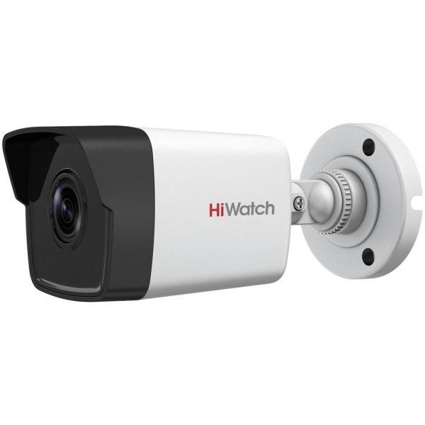 Уличная аналоговая HD-TVI камера-цилиндр 5Мп HiWatch DS-T500 с ИК-подсветкой EXIR
