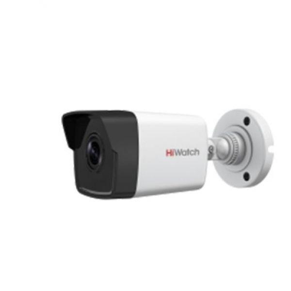 Бюджетная IP Bullet-камера HiWatch DS-I200 с ИК-подсветкой EXIR для улицы