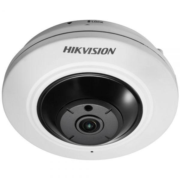 Внутренняя 5Мп IP-камера Hikvision DS-2CD2955FWD-I с объективом «рыбий глаз»