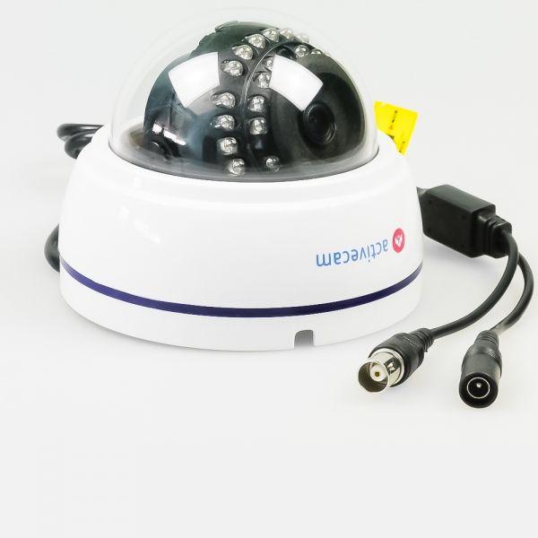 Компактная мультистандартная 2Мп камера ActiveCam AC-TA381IR2 для внутренних инсталляций