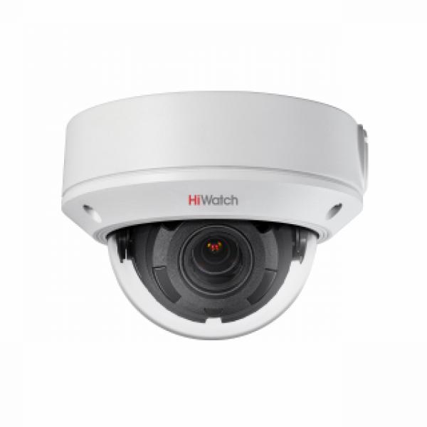Уличная IP-камера HiWatch DS-I208 с вариофокальным объективом и EXIR-подсветкой