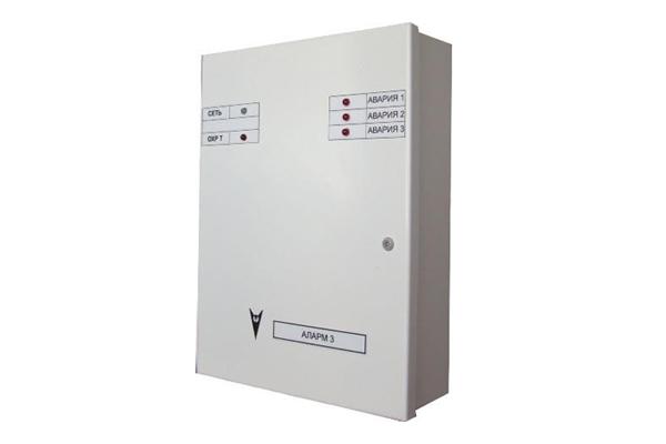 Прибор приемно-контрольный охранный Аларм-3