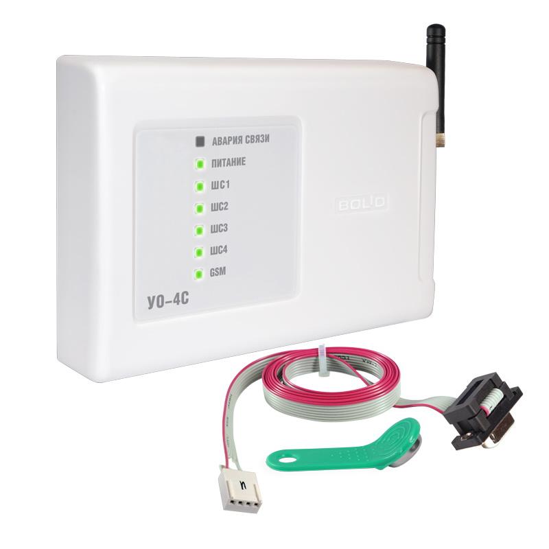 Устройство оконечное системы передачи извещений по каналам сотовой связи GSM УО-4С исп.02