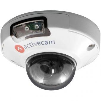 Мини-купольная IP-камера высокого разрешения 5Мп ActiveCam AC-D4151IR1 с ИК-подсветкой для улицы