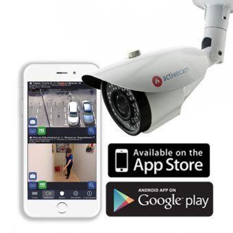 Сетевая камера-цилиндр для улицыActiveCam AC-D2113IR3 с ИК-подсветкой и вариообъективом
