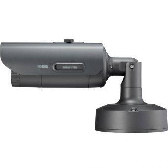 Вандалостойкая 12Мп bullet-камера для улицы Wisenet Samsung PNO-9080RP с Motor-zoom и ИК-подсветкой