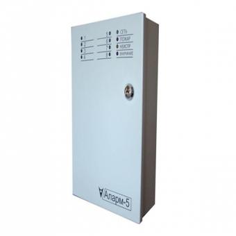 Прибор приемно-контрольный охранный Аларм-5