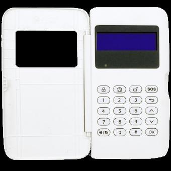 Контрольная панель беспроводной охранной сигнализации Dahua DHI-ARK20C-MW
