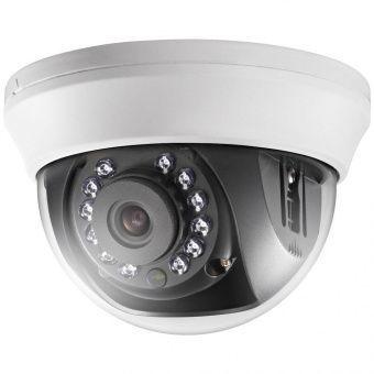 HD-TVI камера с ИК-подсветкой, бюджетный купол для помещений Hikvision DS-2CE56C0T-IRMM